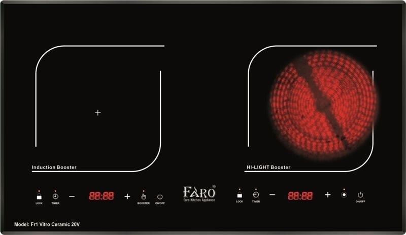 Bếp điện từ Faro FR1-Vitro Ceramic 21V