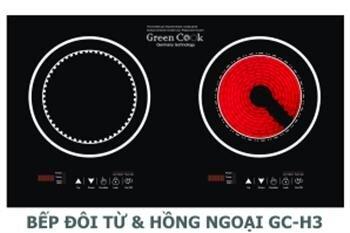 Bếp điện từ Greencook GC-H3