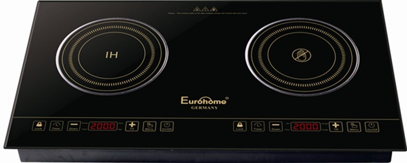 Bếp điện từ hồng ngoại Eurohome EIS201 (EIS-201) - bếp đôi 2000W