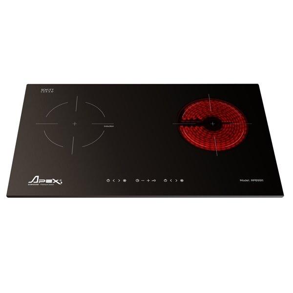 Bếp điện từ - hồng ngoại Sunhouse Apex APB9911 (APB-9911) - bếp đôi, 4000W