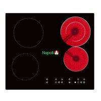 Bếp điện từ Napoli NA-DT4001 - 2 bếp từ + 2 hồng ngoại