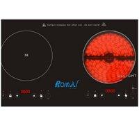 Bếp điện từ Romal RIE-113V - 1 bếp từ + 1 hồng ngoại