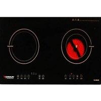 Bếp điện từ Taka TK IR 02B - công suất: 4000W , Kích thước mặt kính: 730 x 420 mm