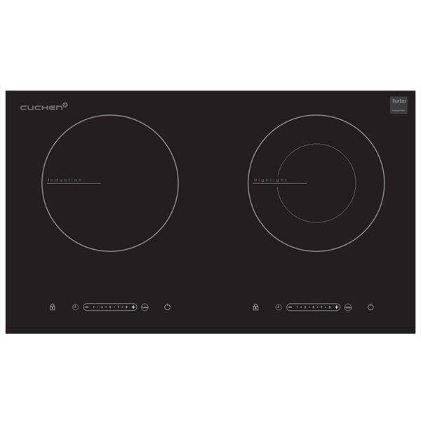 Bếp đôi hồng ngoại điện từ Cuchen CIR-E2110VN