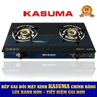 Bếp gas đôi mặt kính KASUMA KS-2900