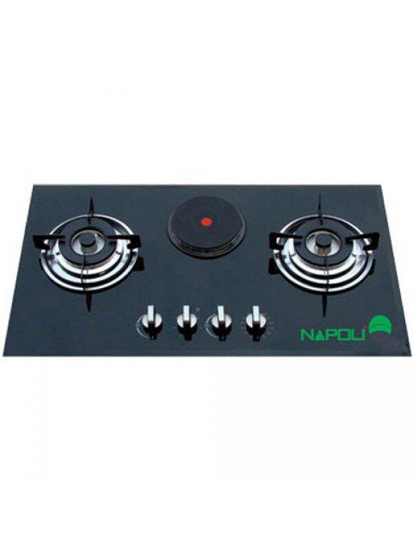 Bếp gas kết hợp điện Napoli NA803E