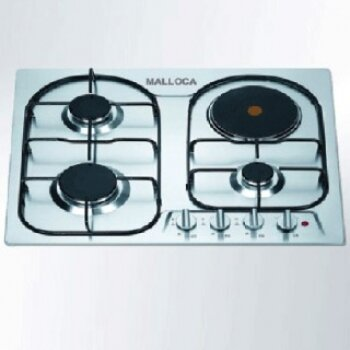 Bếp gas kết hợp điện từ Malloca EGH-604BS
