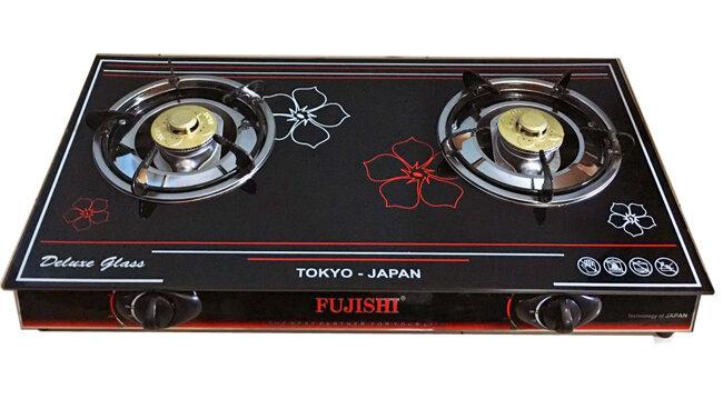 Bếp gas mặt kính cường lực Fujishi FJ-2016N