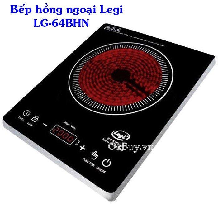 Bếp hồng ngoại cảm ứng Legi LG-64BHN 2000W