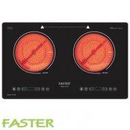 Bếp hồng ngoại đôi Faster FS2E (FS-2E) - 2 bếp, 4300W
