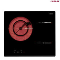 Bếp hồng ngoại Nodor RT 36 - 1 bếp hồng ngoại + 2 bếp từ