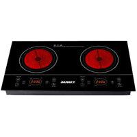 Bếp hồng ngoại Sanaky AT201HGW (AT-201HGW) - Bếp đôi, 3000W