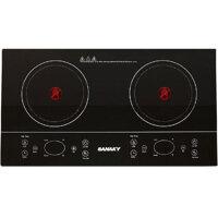 Bếp hồng ngoại Sanaky SNK201HGW (SNK-201HGW) - bếp đôi, 4000W