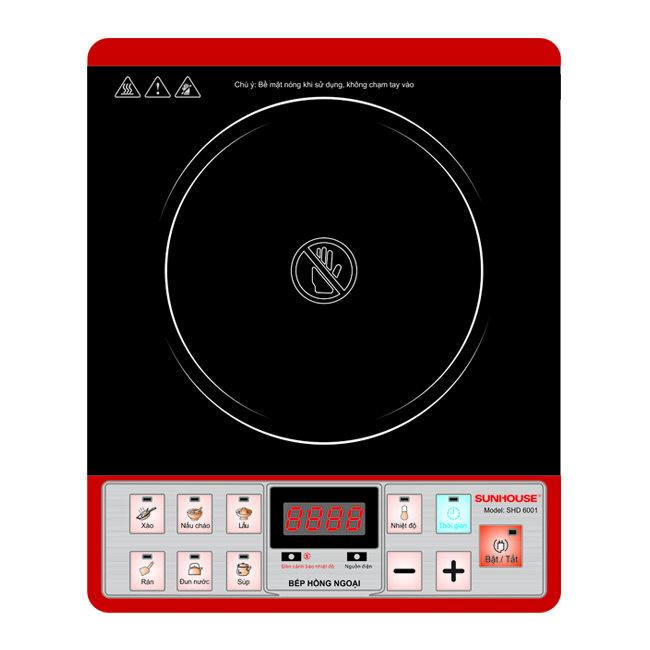 Bếp hồng ngoại Sunhouse SH6001 (SHD6001)