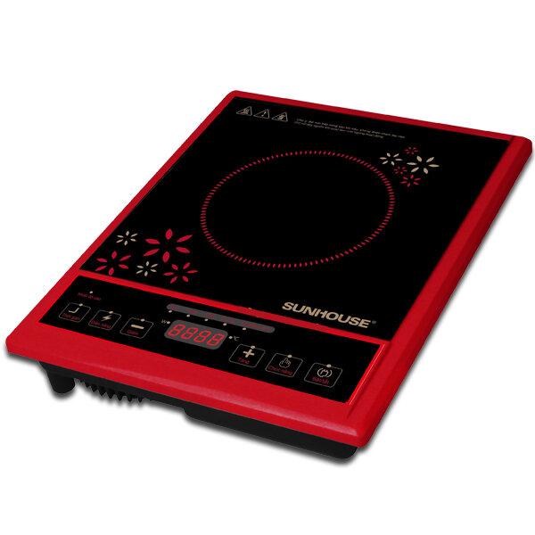 Bếp hồng ngoại Sunhouse + vỉ nướng SHD6012 (SHD-6012) - bếp đơn, 2000W
