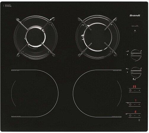 Bếp kết hợp Brandt TI1013B - bếp gas kết hợp từ