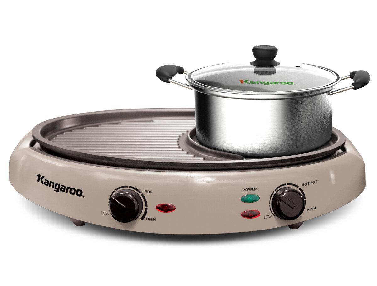 Bếp lẩu nướng BBQ Kangaroo KG96N (KG-96N)