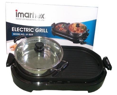 Bếp lẩu nướng Imarflex IF-809 - 2000W