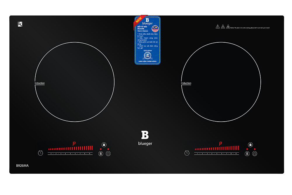 Bếp từ đôi Blueger B926MA