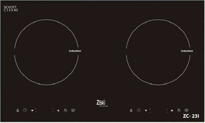 Bếp từ đôi Zegu ZC-23I 4000W
