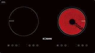 Bếp từ- hồng ngoại Bomann EBK-DT05 - bếp đôi, 3600W