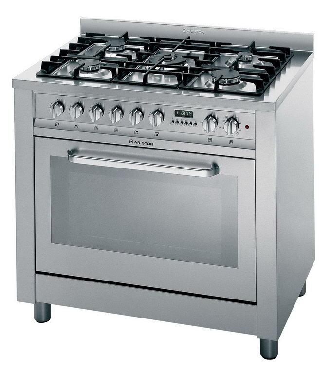 Bếp tủ liền lò nướng Ariston CP059 - 5 bếp gas, 1 lò nướng