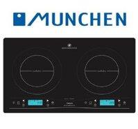 Bếp từ Munchen QA160 - Tổng công suất : 3100 W , Kích thước mặt bếp : 700×400(mm)