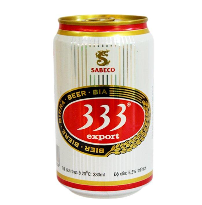 Bia 333 lon 330ml