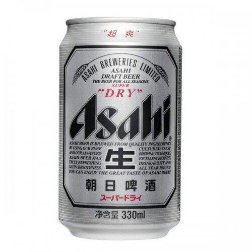 Bia Asahi lon 330ml