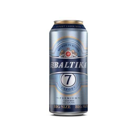 Bia Baltika 7 5% – Lon 900ml
