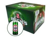 Bia Beck's Xanh lon 500ml - Thùng 12