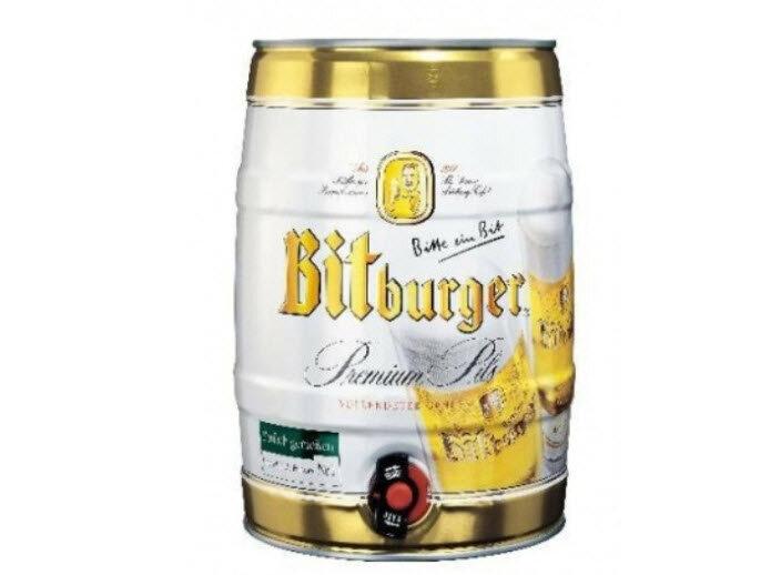 Bia Bitburger - Bom 5L
