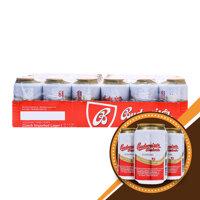 Bia Budweiser Budvar thùng 24 lon x 330ml