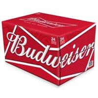 Bia Budweiser King of Beer - Thùng 24 lon 355ml