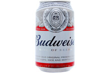 Bia Budweiser Mỹ - lon 330ml
