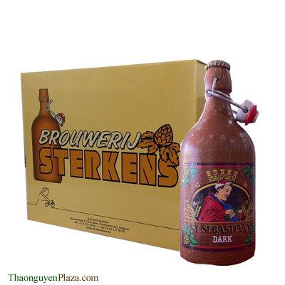 Bia chai sứ đen St. Sebastiaan Dark Ale – Thùng 6 chai x 500ml (6.9%)