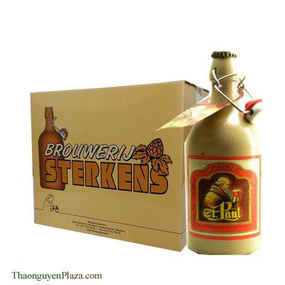 Bia chai sứ vàng St. Paul Triple – Thùng 6 chai x 500ml (7.6%)