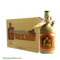 Bia chai sứ vàng St. Paul Triple - Thùng 6 chai x 500ml (7.6%)