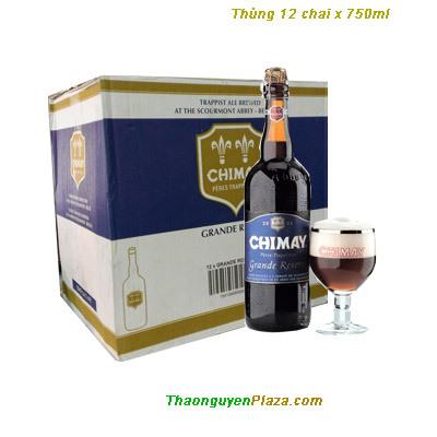 Bia Chimay xanh 750ml – Thùng 12 chai