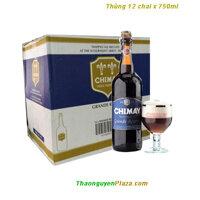 Bia Chimay xanh 750ml - Thùng 12 chai