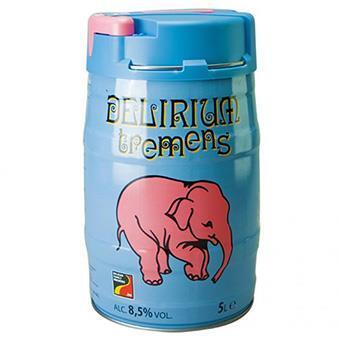Bia con voi Delirium Tremens 8,5% – bom 5l (Bỉ)