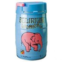 Bia con voi Delirium Tremens 8,5% - bom 5l (Bỉ)