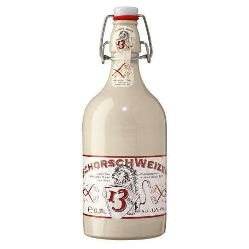 Bia Đức Schorsch Weizen chai sứ 500ml 13%