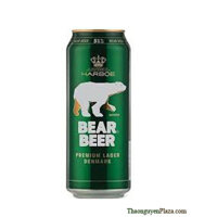 Bia Gấu Đức Bear Beer Premium Lager lon 500ml 5%