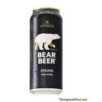 Bia Gấu Đức Bear Beer Strong 7.7% lon 500ml