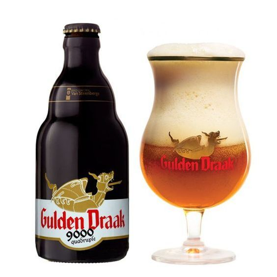 Bia Gulden Draak 9000 Quadruple – 330ml, thùng 24 chai