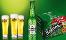 Bia Heineken chai 250ml - Thùng 20 chai (Bia ngoại – Pháp)