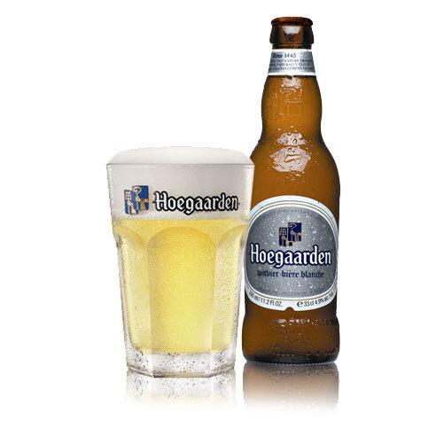 Bia Hoegaarden trắng chai 330ml