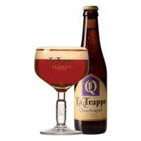 Bia La Trappe Quadrupel 330ml ( 10%)