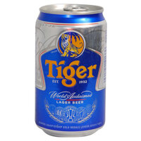 Bia lon Tiger 330ml
